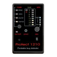 Детектор жучков Protect 1210  - Techyou.ru